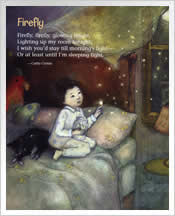 Firefly poem by Cathy Cronin