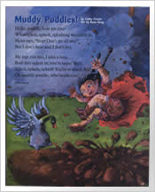 Muddy Puddles poem by Cathy Cronin